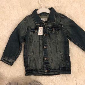 Children's place denim jacket boys or girls